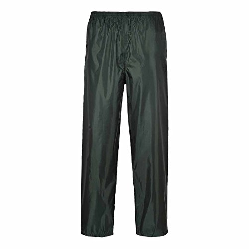 Portwest Klassische Regenhose, für Erwachsene, klassischer Schnitt, M, grau oliv