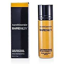 BAREMINERALS BareSkin Pure Brightening Serum Foundation SPF 20 (12 Bare Sand)
