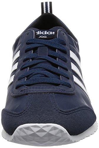 adidas Vs Jog, Scarpe da Corsa Uomo Blu (Azul (Maruni / Ftwbla / Negbas))