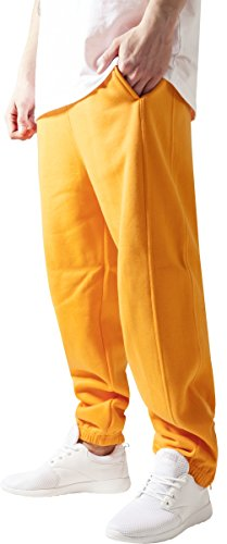 Urban Classics TB014B Herren Sweatpants, orange, 3XL