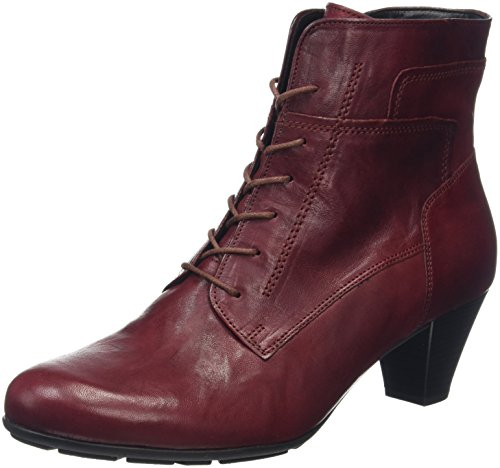 Gabor Shoes Basic, Stivaletti Donna, Rosso (Dark-Red 55), 35 EU