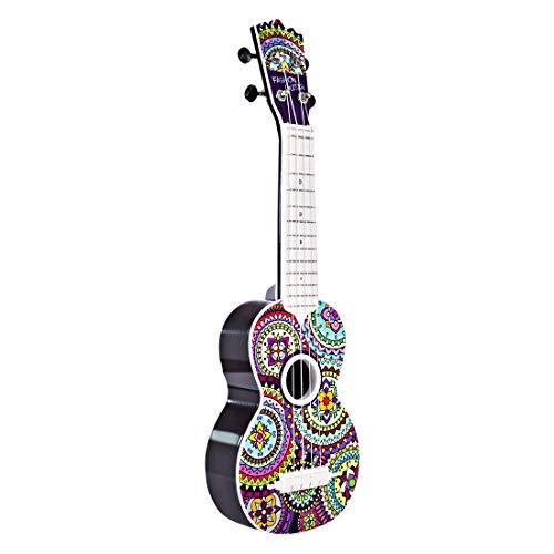 YAKOK Kinder Ukulele 4 Saiten Mini Gitarre Spielzeuggitarre Musik Instrumente Spielzeug für Kinder ab 3-12 Jahre