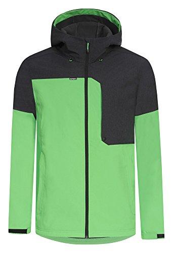 Icepeak Kosta Veste softshell pour homme Vert - Vert feuille