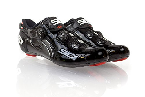Chaussures route WIRE VERNIS 2016 Cyclisme Sidi noir verni