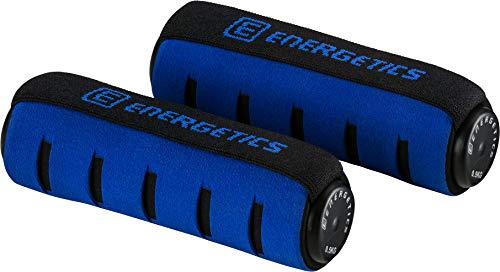 ENERGETICS Soft mit Handschlaufe Hantel, Schwarz/Blau, One Size