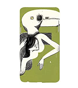 EPICCASE Sleeping lady Mobile Back Case Cover For Samsung Galaxy On5 (Designer Case)