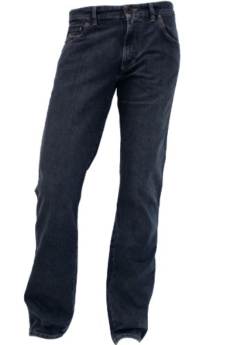 ALBERTO Jeans Stone T400 Ring-Denim Stone 8237 in 34/32 (Five-pocket-gürtel)