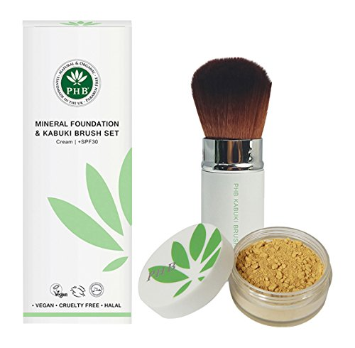 biokompatibel-mineral-foundation-und-kabuki-brush-set-tan-farbe