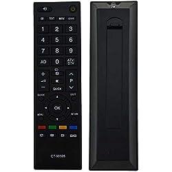 Télécommande Universelle appropriée pour Toshiba TV LED CT90326 CT-90326 3D Smart CT-90380 CT-90386 CT-90336 CT-90351