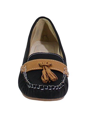 By Shoes Ballerine Donna Nero