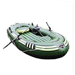 POTA 6 Person Yacht Inflatable Kayak Thicker Fishing Inflatable Boat Water Recreation