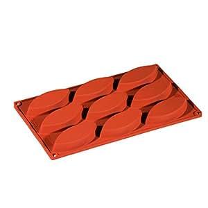 baumalu hf3136 backform f r barquette t rtchen f r 9 st ck silikon k che haushalt. Black Bedroom Furniture Sets. Home Design Ideas