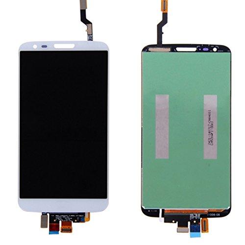 Jasmin FS IPartsBuy LCD Display + Touchscreen Digitizer für LG Optimus G2 / LS980 / VS980 Displayschutz (Farbe : Weiß) (Lg G2 Display Lcd Austausch)