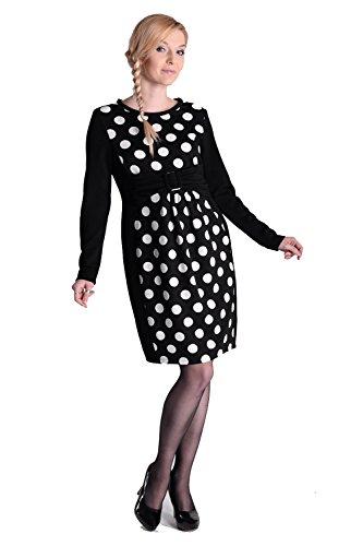 Dress Lara mit Schleifen-Detail 3/4 Arm Damen Umstandsmode/Kleid