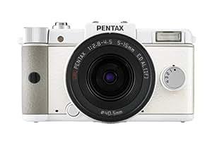Pentax Q Appareil photo numérique Reflex 12.4 Mpix Kit Objectif 5-15 mm Blanc