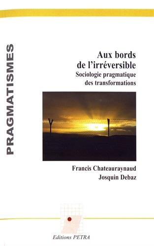 Aux bords de l'irréversible : Sociologie pragmatique des transformations