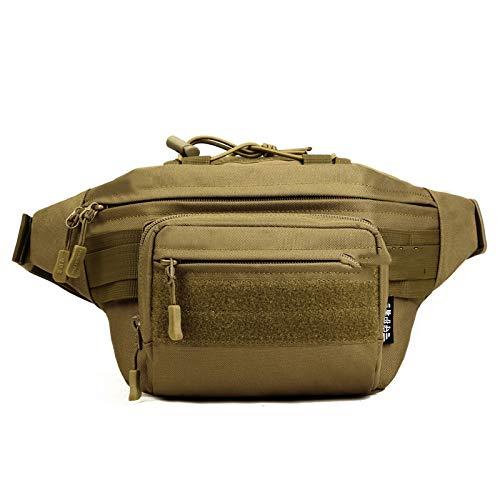 TSLJH Hot Waterproof Nylon Pack Hiking Zip Bag Belt