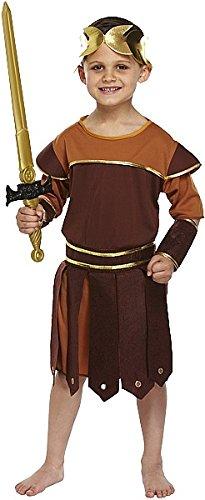 (Kind Römischer Soldat Kostüm Medium 7–9Yrs)