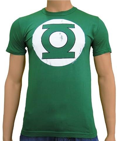Green Lantern Logo T-Shirt DC Comics Baumwolle grün - XS