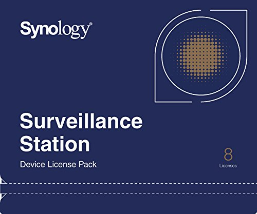 Synology Camera License Pack 8 license 8xCamera Pack,Physical
