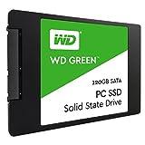 WD Green SSD 120 GB Festplatte SATA 6Gb/s,  bis zu 540 MB/S Lese- und 430 MB/s Schreibgeschwindigkeit, 2,5 Zoll, 7,00 mm WDS120G1G0A