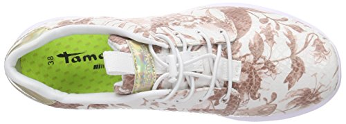Tamaris 23707, Baskets Basses femme Multicolore - Mehrfarbig (MAUVE FLOW.COM 553)