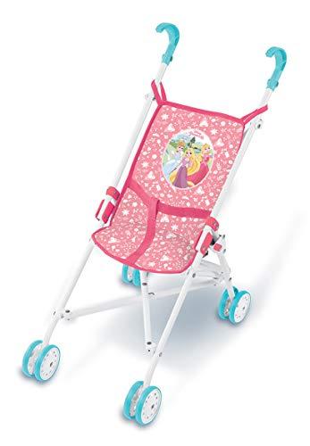 Smoby DP Kinderwagen Canne, 7/250109, Rosa, Weiß, Blau Preisvergleich