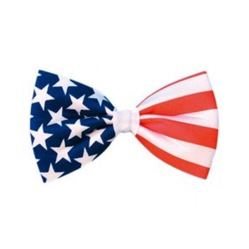 Fliege, Motiv: US-Flagge, Stars and Stripes