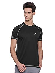 Proline Mens Black T-Shirt (PA12461BK_L)