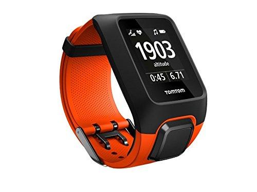 TomTom Adventurer Outdoor GPS Uhr, Outdoor Sport Modi, Routenfunktion, Kompass und Höhenmesser, Eingebauter Herzfrequenzmesser, 3GB Speicherplatz für Musik