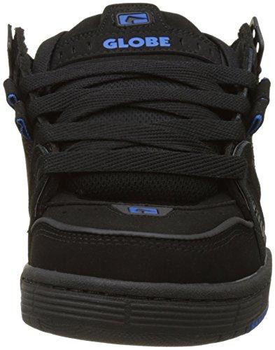 Globe Herren Sabre Skateboardschuhe Schwarz (Black/black/blue)