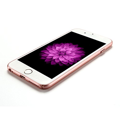 iPhone 6 plus Cover iPhone 6s plus Custodia PC Anfire Ultra Sottile Leggera Hard Case Caso Anti Scratch Rigida Plastica Copertura per Apple iPhone 6 plus / 6s plus (5.5 Pollici) Duro PC Opaco Antiurto Rose dOro