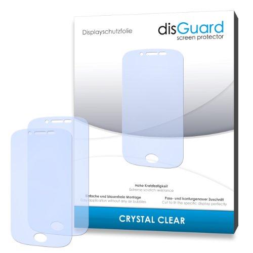 disGuard® Bildschirmschutzfolie [Crystal Clear] kompatibel mit Wiko Sublim [3 Stück] Kristallklar, Transparent, Unsichtbar, Extrem Kratzfest, Anti-Fingerabdruck - Panzerglas Folie, Schutzfolie
