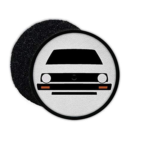 Copytec Golf 2 Oldtimer Diesel TDi Fan Kutte Abzeichen GTI II Wagen Klett #27793