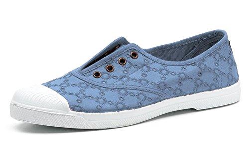 Natural World Eco – 120 VEGANE GETÖNE Schuhe Chucks Retro Canvas SCHNÜRSCHUHE Pumps Sportliche Turnschuhe für Damen Umweltfreundlich – erhältlich in Vielen Farben