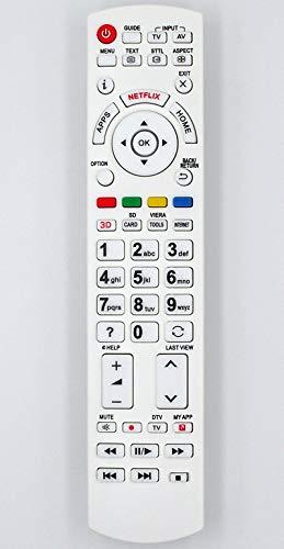 Ersatz Fernbedienung for Panasonic TV TX-58DXM715 TX-58DXN788 TX-58DXT786 TX-58DXW704 TX-58DXW734 TX-58DXW784