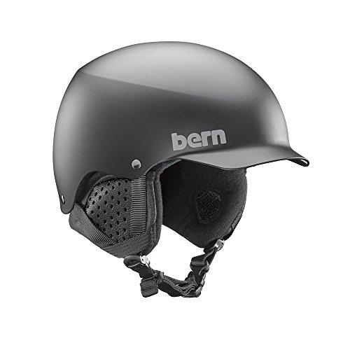 Bern Herren sm04818mbk2Baker Winter Snow Helm, matt schwarz, mittel