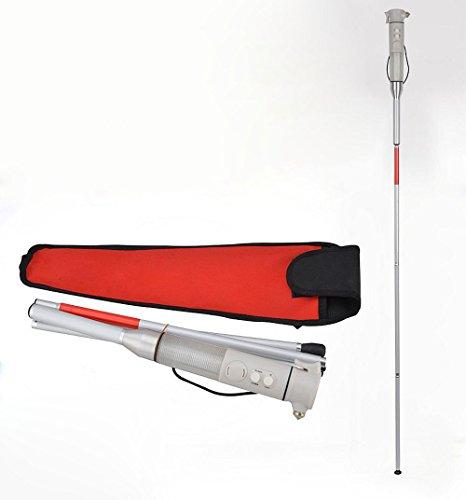 Bastón Ciego De La Caña Ciega De Aluminio Plegable