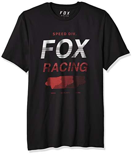Fox Herren Unlimited Short Sleeve Airline Premium T-Shirt, schwarz, Klein