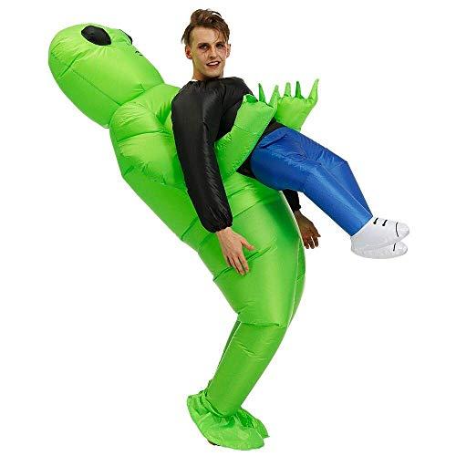 JASHKE Aufblasbare Kostüm Party Geschenk Kostüm Blow up Cosplay Party Kostüme für Erwachsene und Kinder (Aliens Kostüm Für Erwachsene)