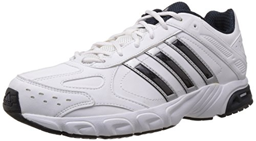 adidas Men's Impulse Syn M White and Black Running Shoes - 9 UK  available at amazon for Rs.1840