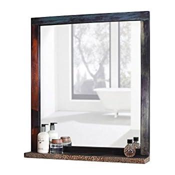 Spiegelschrank landhausstil wandspiegel holz vintage for Amazon spiegelschrank