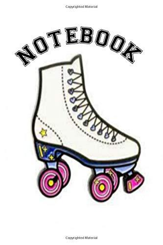 Notebook: Roller Skate Derby Homework Book Composition and Journal Diary por Retrosun Designs