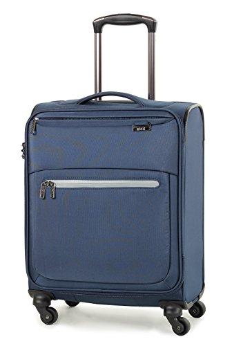 rock-liberty-54cm-lightweight-ryanair-compliant-four-wheel-spinner-cabin-suitcase-navy
