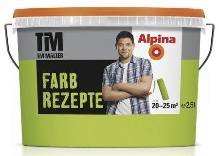 ALPINA Farbe Tim Mälzer Farbrezepte 2,5 L, Frühlingswiese, Hellgrün, Grün