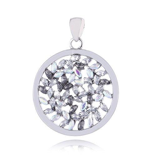 Morella Amuleto donna con zirconi color argento