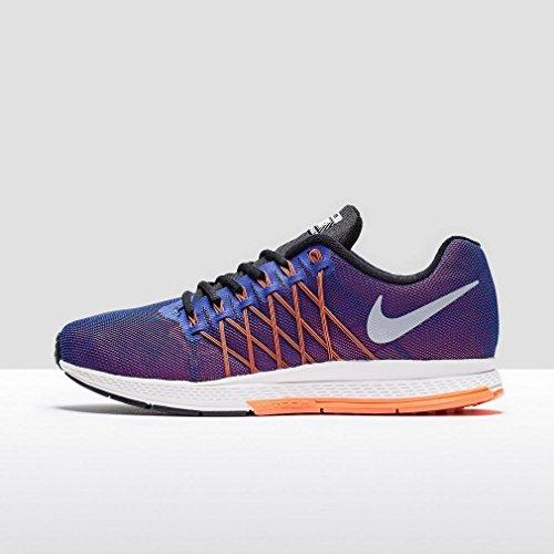 Nike Air Zoom Pegasus 32 Flash Scarpe da ginnastica, Uomo Azul / Naranja / Plata / Negro (Dp Ryl Bl / Rflct Slvr-Ttl Crmsn)