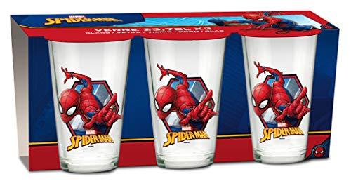 Marvel Spiderman Gläser 3er SET (Spiderman-lego-sets)