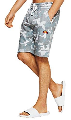 Ellesse Herren Hosen / Shorts Noli Fleece camouflage 2XL (Camouflage-fleece-hose)