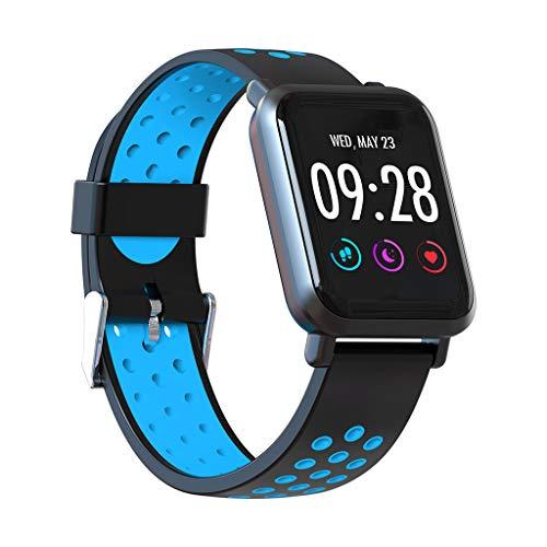 Smartwatch, Elospy Smart Watch Sport Uhr Smart Uhr Fitness Tracker 3ATM wasserdicht mit Schrittzähler Schlafanalyse Blutdruck Monitor Fernfotografie Kompatible Android Handy für Herren Damen